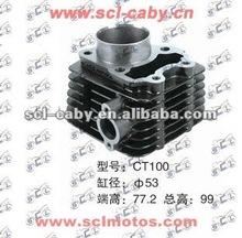 BAJAJ BOXER CT100 BAJAJ BOXER BM100 motorcycle engine parts Cylinder head
