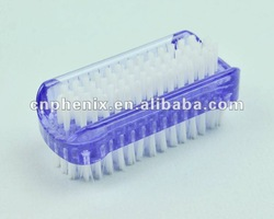 Double side plastic nail brush