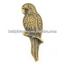 fashion metal bird charms