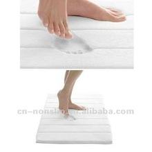 Home Luxury Comfortable Microfiber Memory Foam Bath Mat & Bath Rug