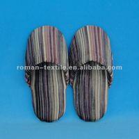 Stripe Corduroy Winter Women Warm Indoor Slippers Best