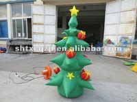inflatable christmas tree indoor