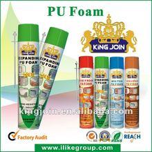 Spray Aerosol PU Foam/Adhesive/Insulation/Sealant/Filler tube/gun type manufacturer/factory 750ml/500ml