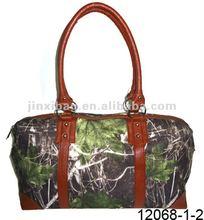 Original forest printed flannel handbags and shoulder bag for women