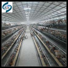 Kompakt yapısı Otomatik yumurtası tavuk besleme sistemi iyi kalitede