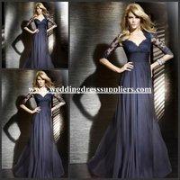 LD3933 Elegant V-Neck Lace Half Sleeves Bolero Jackets for Evening Dresses