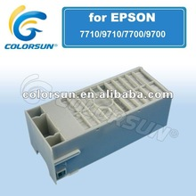 hot sell waste ink tank maintenence for Epson pro 9700/7700/7710/9710 inkjet printer