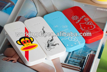 2012 New style 2500mah usb portable power bank external battery