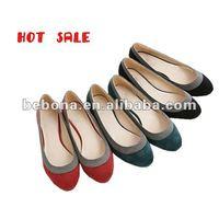 2013 fashion bowtie ladies blue suede shoes
