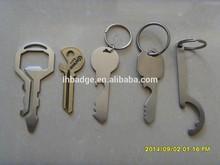 key shape bottle opener, beer bar bottle opener,can opener