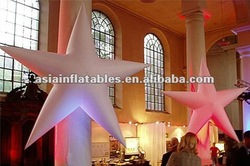 Star Fish With Led Light Inflatable Decoration