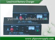 Intelligent charging 12V 24V 30A ac/dc charger