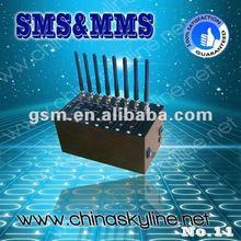 8 ports bulk SMS Modem support SMS Caster/Kannel ,edge gprs modem driver