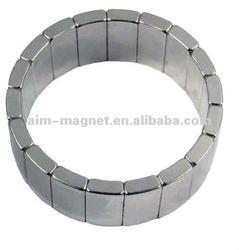 N35 Zn coating special shaped renewable energy magnet motor