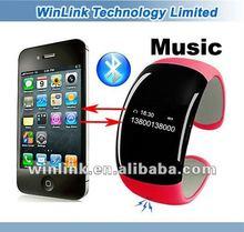 New Design Play Music Silicone Bluetooth Wrist