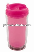 new design double wall insulated plastic cup