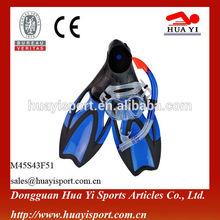 Professional underwater diving mask snorkel fins set scuba equipment