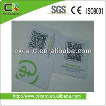 PVC/PET Discount Code39 barcode Card