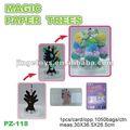 nova magia crescente papel de árvore de natal de brinquedos para as crianças 2013