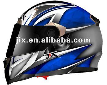 UNique NEW Full Face double visor sun glass Motorcycle Helmets