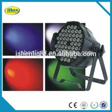 Led Interior 54*3W RGBW Aluminum Par Light