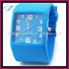 hot new cheap fashion unisex colored silicone quartz jelly watches 2012