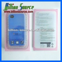 Hotest silicone cross line bumper for iphone 4