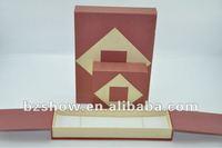 Fashion Design Paper Gift Boxes Modern Jewellery Box
