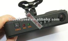 GPS G-sensor Car Black Box H.264 Dual Camera DVR