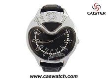 Fashion rhinestone ladies watch with unique watch case design