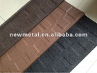 stone coated metal roofing shingle/colorful stone coated metal roofing