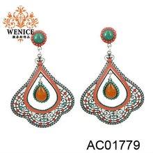 2013 aliexpress fashion resin earring for Christmas