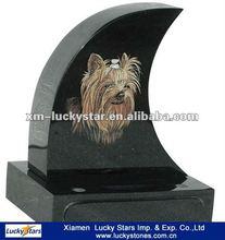 Shanxi Black Granite Pet Memorial Stones