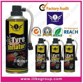450ml Emergency Instant Repairing Portable Tubeless Emergency Using Tyre Inflator&Sealer Manufacture(REACH,SGS,TUV)