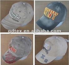 100% cotton baseball cap ear flap