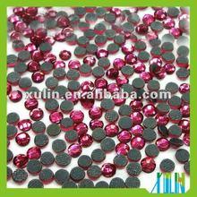 flat back glass rhinestone beads for clothing