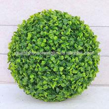 artificial boxwood ball