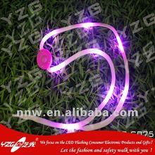 Wholesae LED lighted shoelace for souvenir