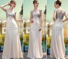 Fablous Off The Shoulder Sheath Floor Lemgth Sequin Gem Ornaments Open Keyhole Back Prom Dresses Evening Gowns