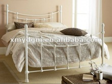 home wroght iron queen metal bed frames (ML-052)