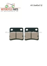 Motorcycle brake pad for Dio