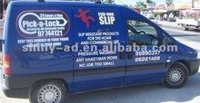 color car wraps, vehicle/van sticker