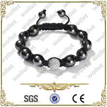2014 new york wholesale fashionable custom beaded bracelet men