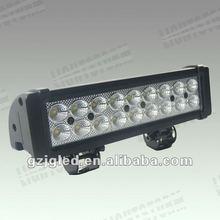 2012 hot sale!! Factory price!! 54W 12V/24V led light bar for car (LB-154) led truck and trailer lights