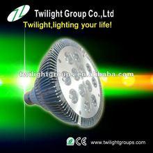 Wholesale 12w spot grow light tri band 2012 best LED Par led grow light