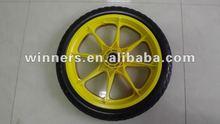 pu foam wheel/pu colored wheels