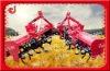 Gear drive tractor mounted farm tilling machine