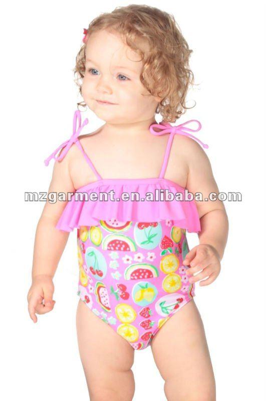Fruit Salad One Piece childrens swimwear
