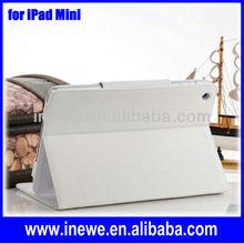 For iPad Mini Fold Auto Sleep leather case