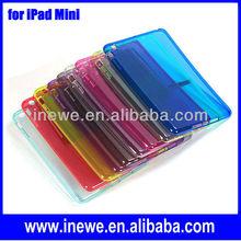 For iPad Mini Transparent polishing tpu soft case
